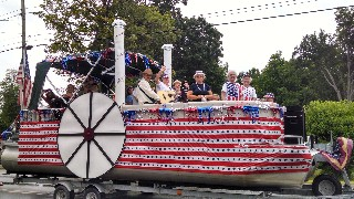 Old Hallowell Day Parade MCC Float 7-18-15